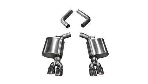 Corsa 15-19 Dodge Challenger 6.4L/17-19 Challenger 5.7 Polished Sport Axle-Back Exhaust w/3.5in Tips 21020