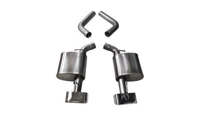 Corsa 15-19 Dodge Challenger 6.4L V8 2.75in Dual Rear Exit Axle-Back Sport GTX2 Polished Tips 21021