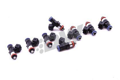 DeatschWerks 85-98 Volvo 240/740/940 Red Block 650cc Injectors - Set  of 4