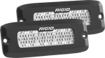 Rigid Industries SRQ2 - 60 Deg. Lens - White - Flush Mount - Set of 2 935513