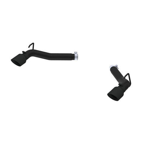 MBRP 2010-2015 Chevrolet Camaro V8 6.2L 3in Black Coated Axle Back Muffler Delete S7019BLK