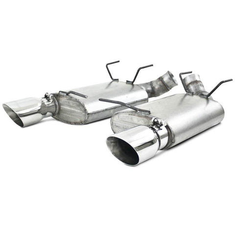 MBRP 11 Ford Mustang GT 5.0 3in Dual Muffler Axle Back Split Rear T304 Exhaust System S7224304