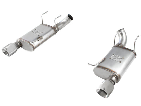 aFe MACHForce XP Exhaust 11-14 Ford Mustang GT V8-5.0L 3in. SS Axle-Back w/Polished Tips