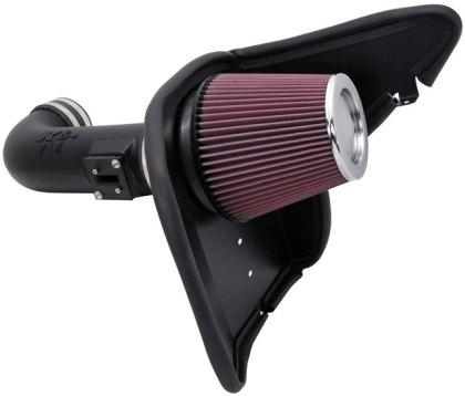 K&N 2010 - 15 Chevy Camaro 6.2L V8 Aircharger Performance Intake 63-3074