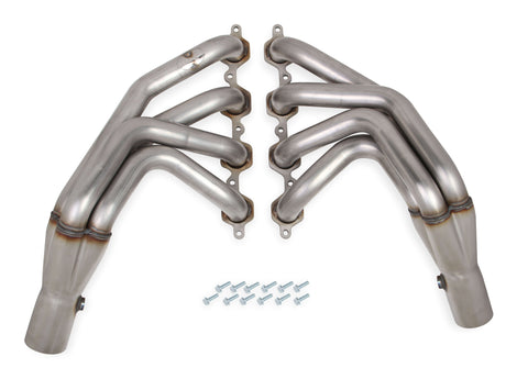 C7 Corvette Hooker BlackHeart Long Tube Headers - Stainless Steel 70101322-RHKR