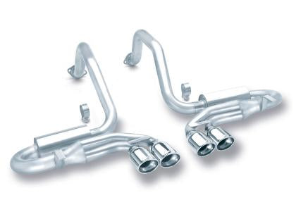 Borla 97-04 Corvette Coupe/Conv/Hatchback 5.7L 8cyl 4spd/6spd RWD Classic S-Typein Cat-Back Exhaust 140039