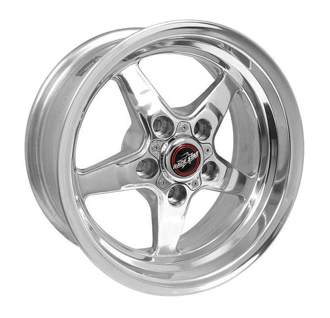 Racestar 92 Drag Star Polish 15x7 5x4.50BC 3.50BS 92-570146DP