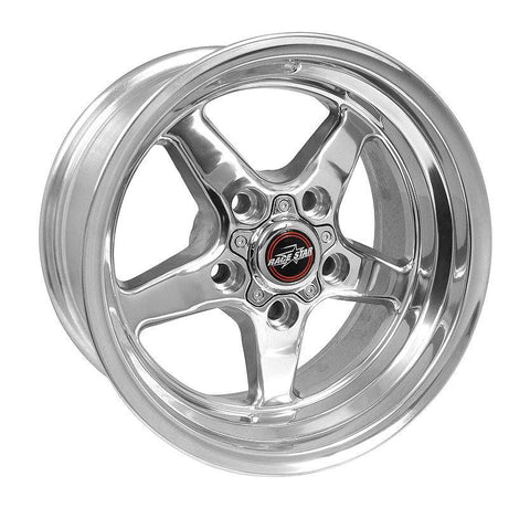 Racestar 92 Drag Star Polish 15x8 5x4.50BC 4.50BS 92-580148DP