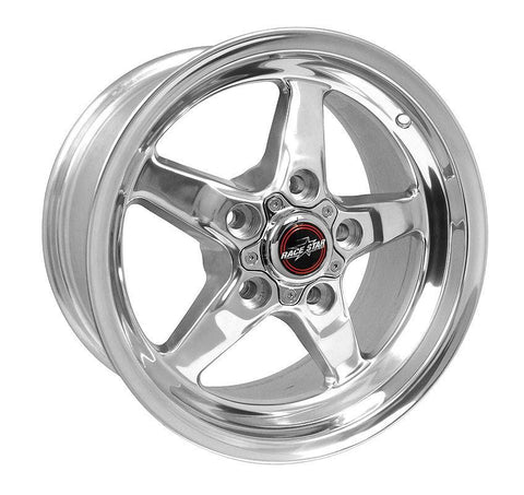 Racestar 92 Drag Star Polish 15x8 5x4.75BC 5.25BS 92-580250DP