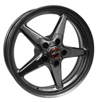Racestar 92 Drag Star Bracket Racer Metallic Gray  15x10 5x4.50BC 6.25BS 92-510152G