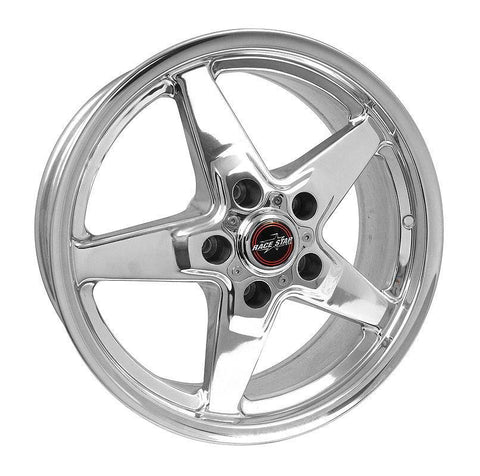 Racestar 92 Drag Star Polish 17x8 5x4.75BC 5.05BS 92-780248DP-14