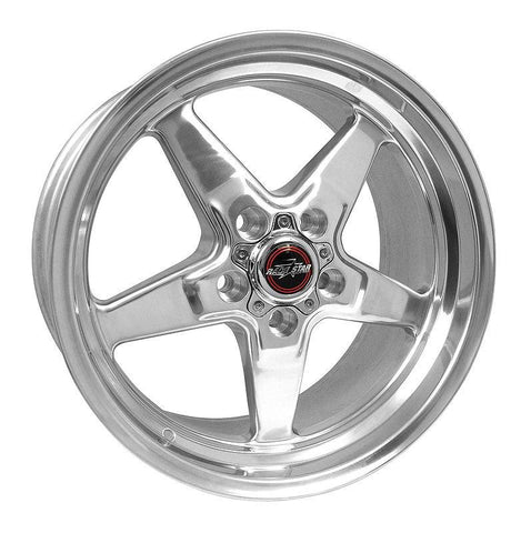 Racestar 92 Drag Star Polish 17x9.5 5x4.75BC 5.25BS 92-795249DP