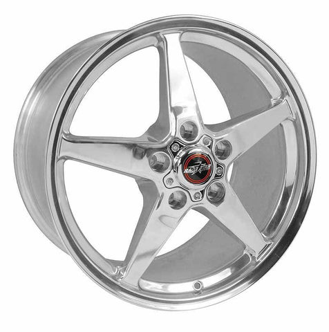 Racestar 92 Drag Star Polish 18x10.5 5x4.75BC 8.31BS 92-805255DP-65.0