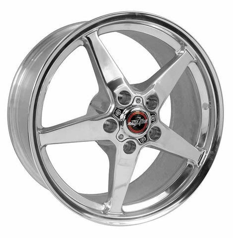 Racestar 92 Drag Star Polish 18X10.5 5x4.75BC 8.10BS 92-805256DP