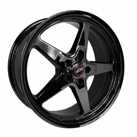 Race Star 92 Drag Star 18x10.50 5x4.75bc 8.75bs Direct Drill Dark Star Wheel 92-805257DSD