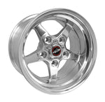 Racestar 92 Drag Star Polish 17x4.5 5x135BC 1.75BS 92-745532DP