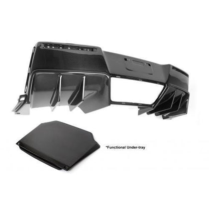 APR Performance 14-18 Corvette C7 Z06 Carbon Fiber Rear Diffuser With Undertray Version II AB-277030