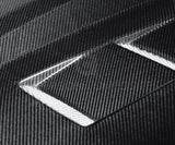 Anderson Composites 10-11 Chevy Camaro TS-style Carbon Fiber Hood AC-HD1011CHCAM-TS