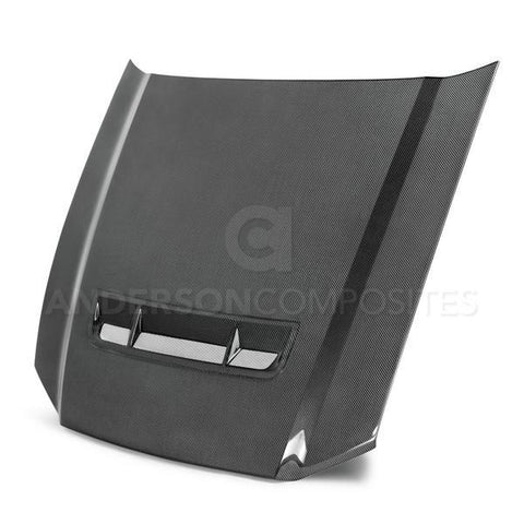 Anderson Composites 10-14 Ford Mustang/Shelby GT500 and 2013-2014 GT/V6 Type-GT Hood AC-HD1011FDMU-GT