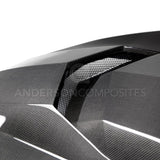 Anderson Composites 2016+ Type-AZ Camaro Double Sided Fiber Hood AC-HD16CHCAM-AZ-DS