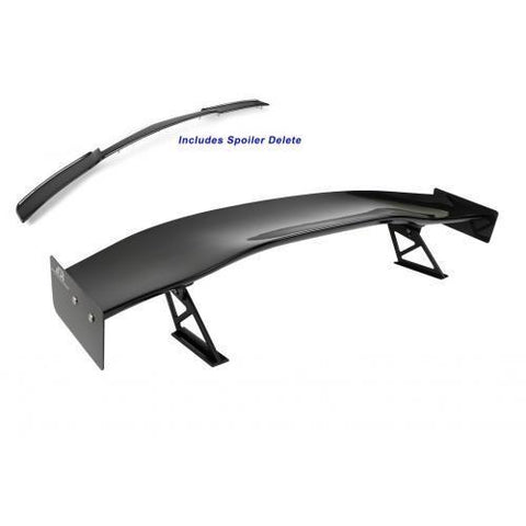"APR Performance Carbon Fiber 71"" GTC-500 14-19 Corvette C7 Spec Adjustable Wing With Spoiler Delete AS-107079"