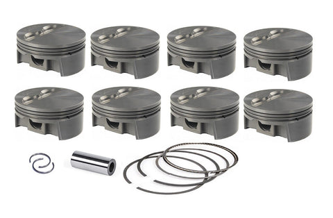 Mahle MS Piston Set GM LS 430ci 4.135in Bore 4in Stk 6.125in Rod .927 Pin -3cc 12.4 CR Set of 8