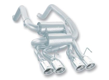Borla 05-08 Corvette Convertible/Coupe 6.0L/6.2L SS S-Type Exhaust (REAR SECTION ONLY) 11744