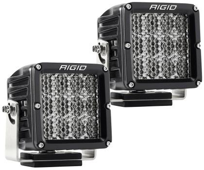 Rigid Industries D2 XL Specter Diffused - (Set of 2) 322713