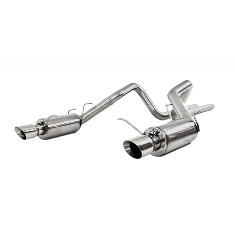 MBRP 11-14 Ford Mustang GT 5.0L Dual Split Rear Street Version T409 3in Cat Back Exhaust System S7258409