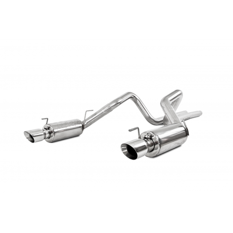 MBRP 05-09 Ford Shelby GT500 / GT Dual Split Rear Street Version 4in Tips T409 Exhaust System S7269409