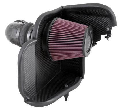 K&N 12-15 Chevy Camaro ZL1 6.2L V8 Aircharger Performance Intake 63-3079