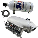 Nitrous Express Holley Hi-Ram Intake Manifold for Cathedral Port Heads w/NX Direct Port