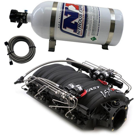 Nitrous Express Fast 102 Intake Manifold for LS3/L92 Heads w/NX Shark Direct Port