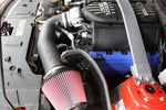 JLT 11-14 Ford Mustang GT Series 2 Black Textured Cold Air Intake Kit w/Red Filter - Tune Req CAI2-FMG-11