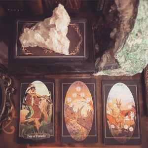 Three card tarot spread - Question-less