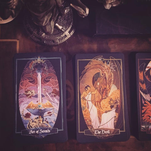 Children of Litha yes or no tarot spread