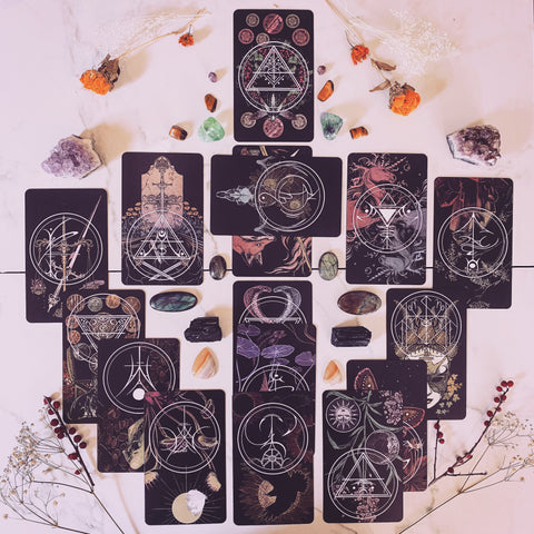 Tarot spread for your journal