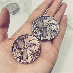Fox/Hare Lucky Divination Coins **PREORDER**