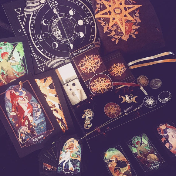 XiaHunt Deluxe Gift Box Set with Children of Litha tarot and much more!