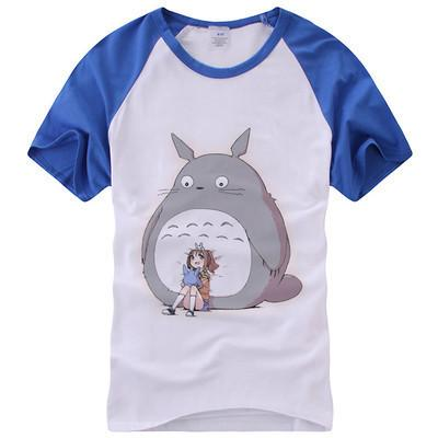 Totoro Cute Kawaii Short Sleeve T-Shirt V14