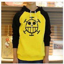 Load image into Gallery viewer, One Piece Yellow Winter Hoodie