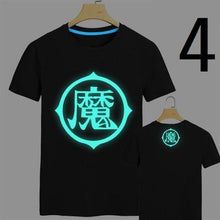 Load image into Gallery viewer, Dragonball Z Glow In The Dark Mens T-Shirt