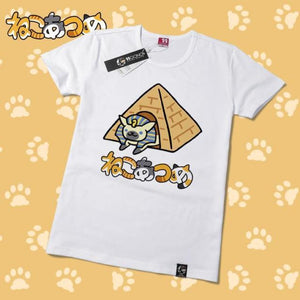 Neko Atsume Cute Kawaii Cat T-Shirt V2