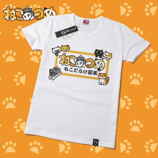 Neko Atsume Cute Kawaii Cat T-Shirt V6