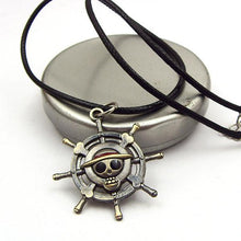 Load image into Gallery viewer, One Piece Skull Luffy Pendant Necklace