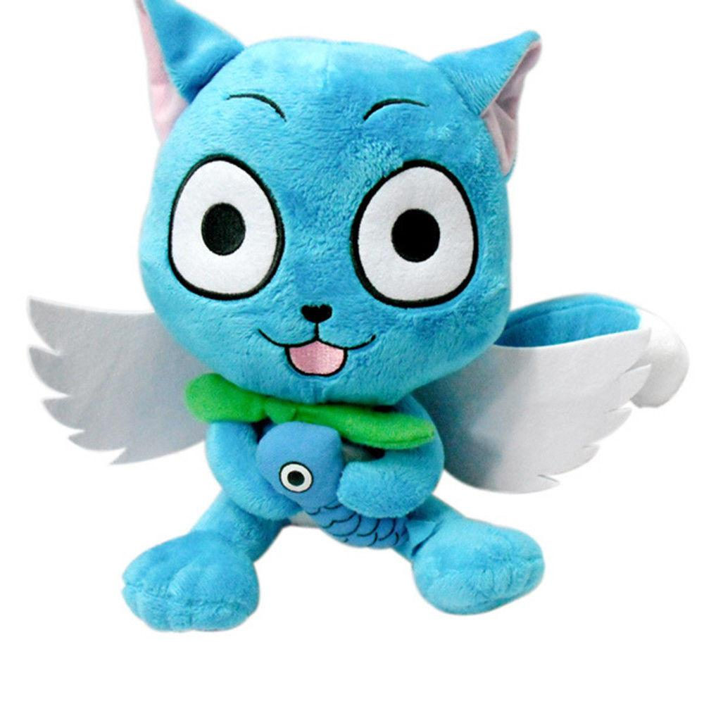 Fairy Tail Anime Happy Stuffed Plush Pillow Toy