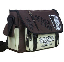 Load image into Gallery viewer, Attack On Titan Outdoor Travel Shoulder Bag