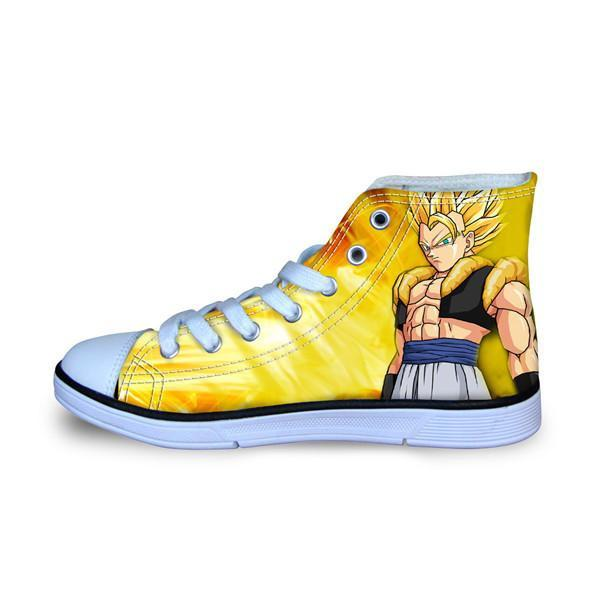 Dragon Ball Z High Top Shoes Goku Style 9