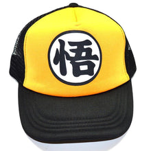 Load image into Gallery viewer, Dragonball Z Black/Yellow Snapback Baseball Anime Hat