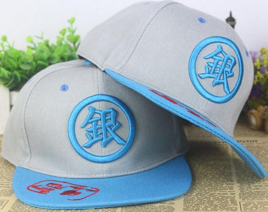 Gintama Snapback Baseball Anime Hat